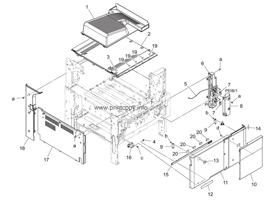 Parts Catalog > Konica-Minolta > bizhub C224 > page 1