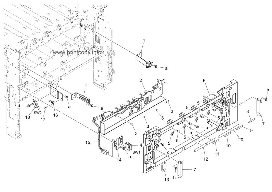 Parts Catalog > Konica-Minolta > bizhub C364 > page 3