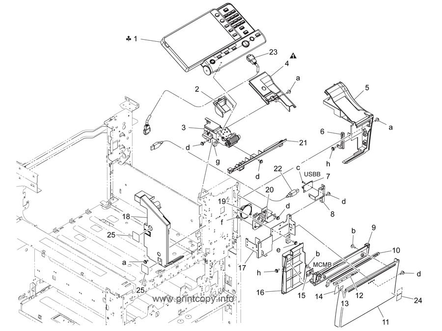 Parts Catalog > Konica-Minolta > bizhub C224 > page 4