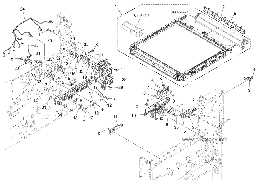 Parts Catalog > Konica-Minolta > bizhub C364 > page 15