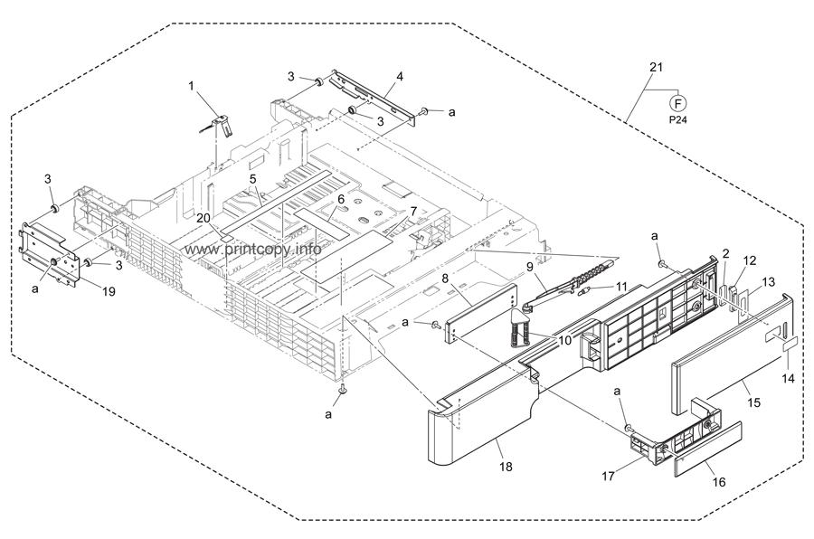 Parts Catalog > Konica-Minolta > bizhub C284 > page 23