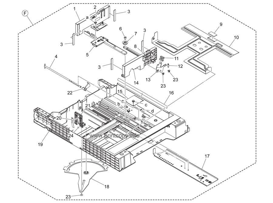 Parts Catalog > Konica-Minolta > bizhub C284 > page 24