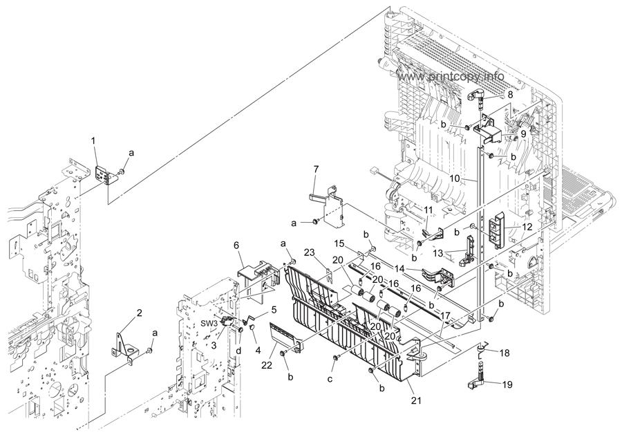 Parts Catalog > Konica-Minolta > bizhub C364 > page 30