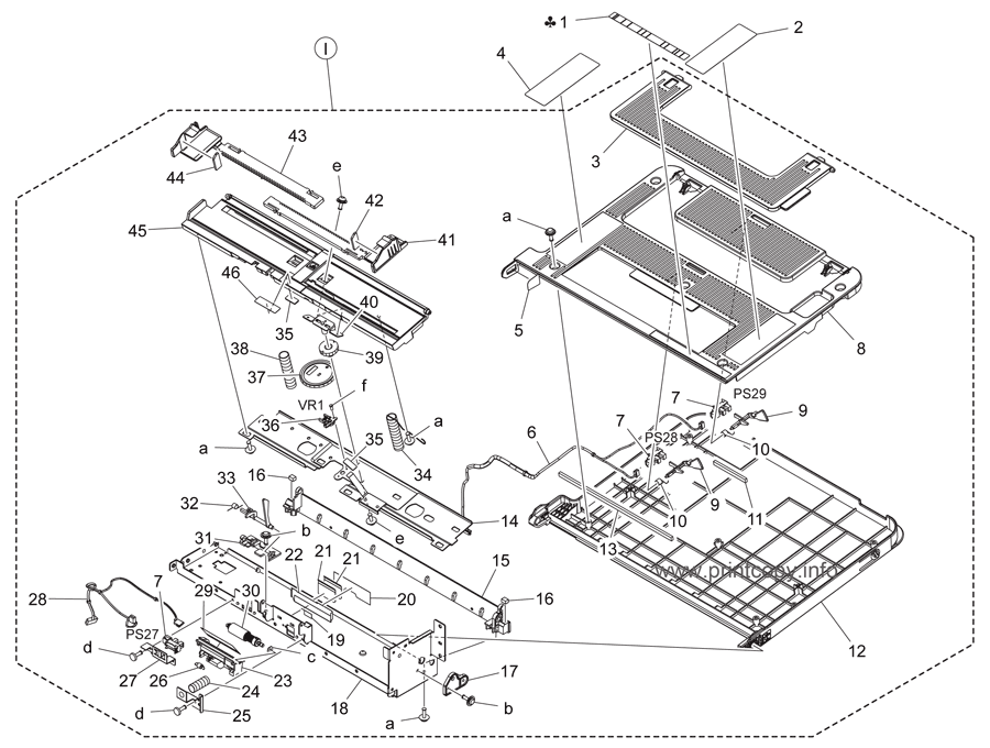 Parts Catalog > Konica-Minolta > bizhub C224 > page 32