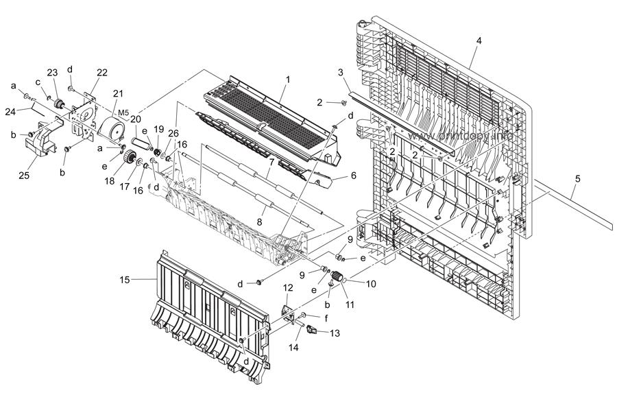 Parts Catalog > Konica-Minolta > bizhub C224 > page 33