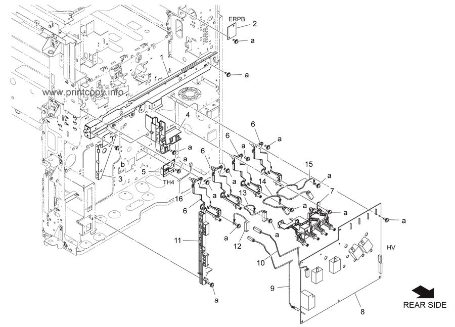 Parts Catalog > Konica-Minolta > bizhub C284 > page 43