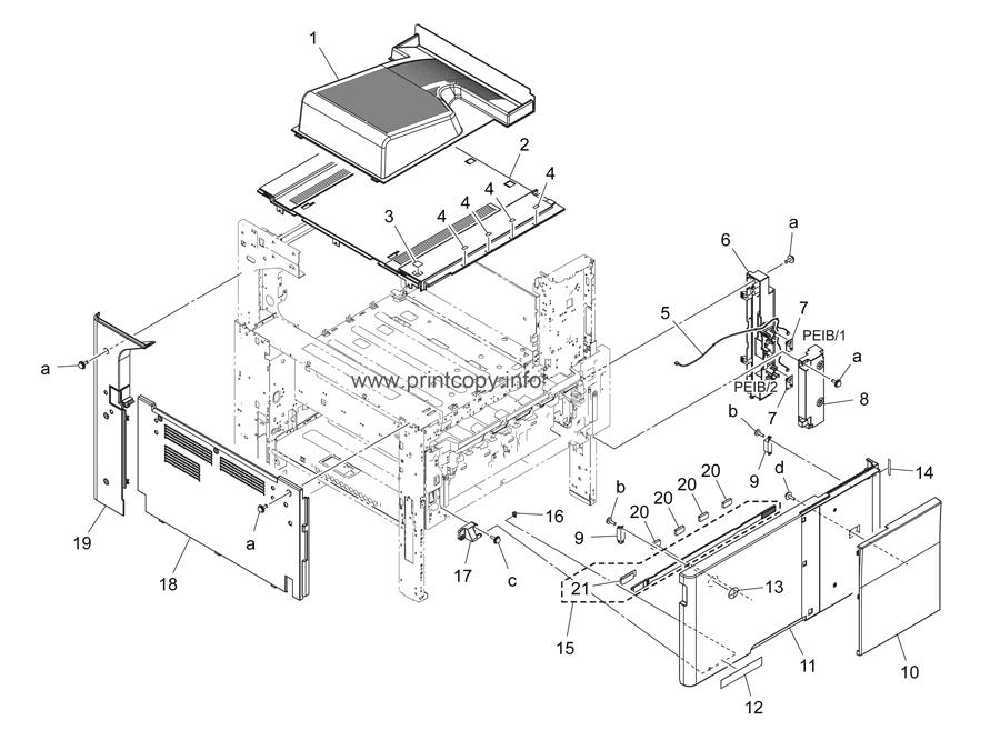 Parts Catalog > Konica-Minolta > bizhub C224e > page 1