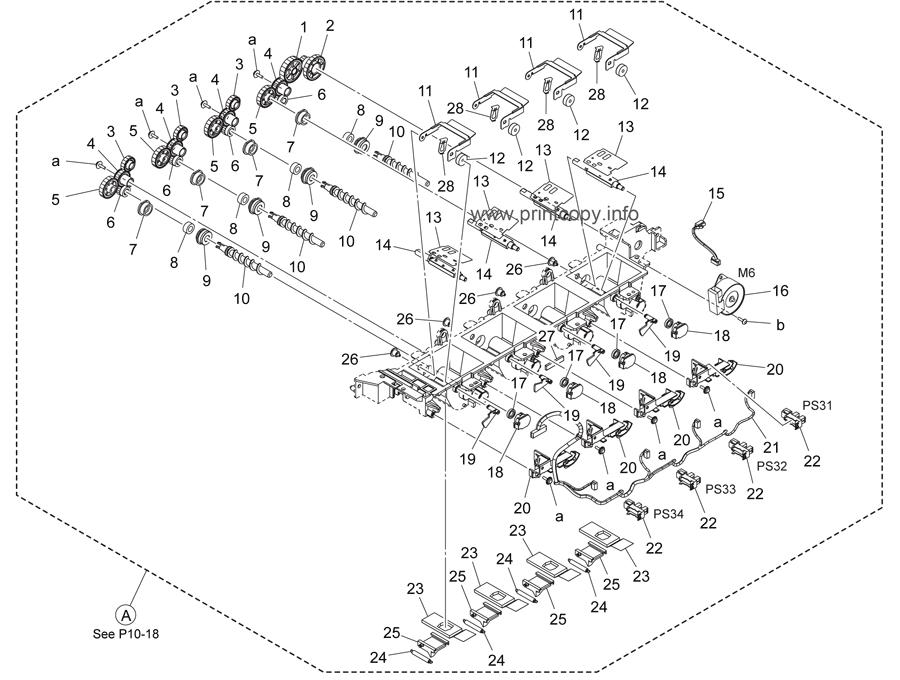 Parts Catalog > Konica-Minolta > bizhub C284e > page 11