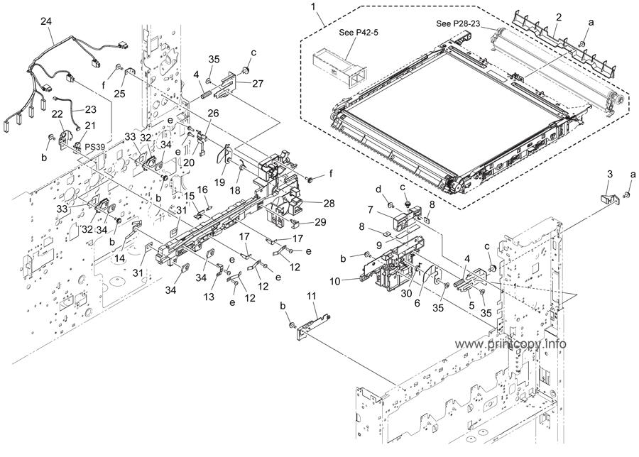 Parts Catalog > Konica-Minolta > bizhub C224e > page 15