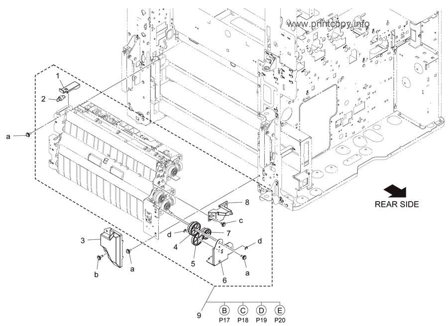 Parts Catalog > Konica-Minolta > bizhub C284e > page 16