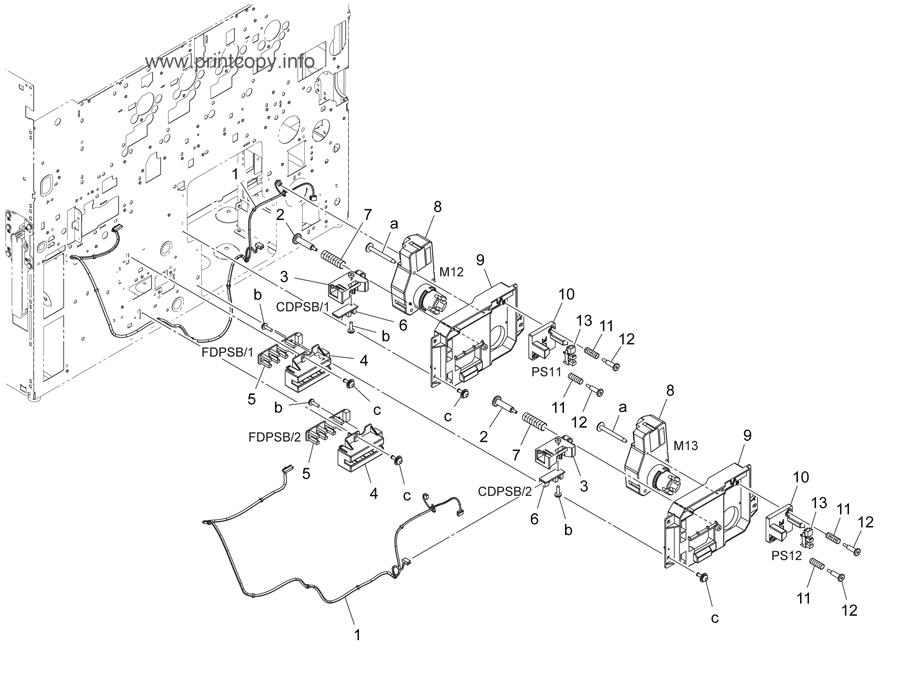 Parts Catalog > Konica-Minolta > bizhub C224e > page 22