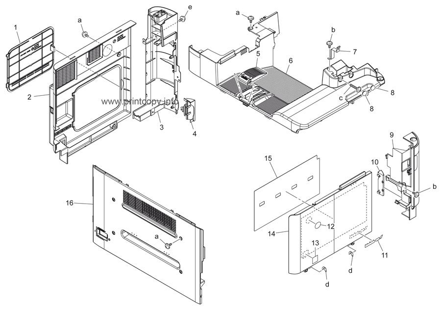 Parts Catalog > Konica-Minolta > bizhub C25 > page 4