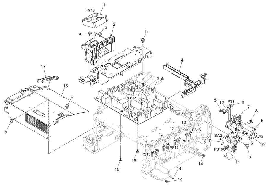 Parts Catalog > Konica-Minolta > bizhub C25 > page 5