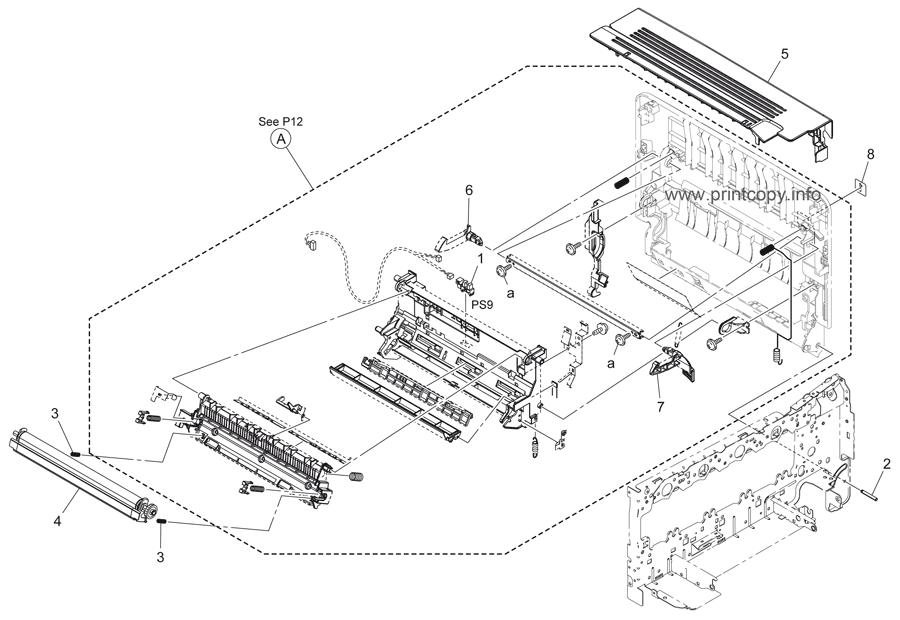 Parts Catalog > Konica-Minolta > bizhub C25 > page 13
