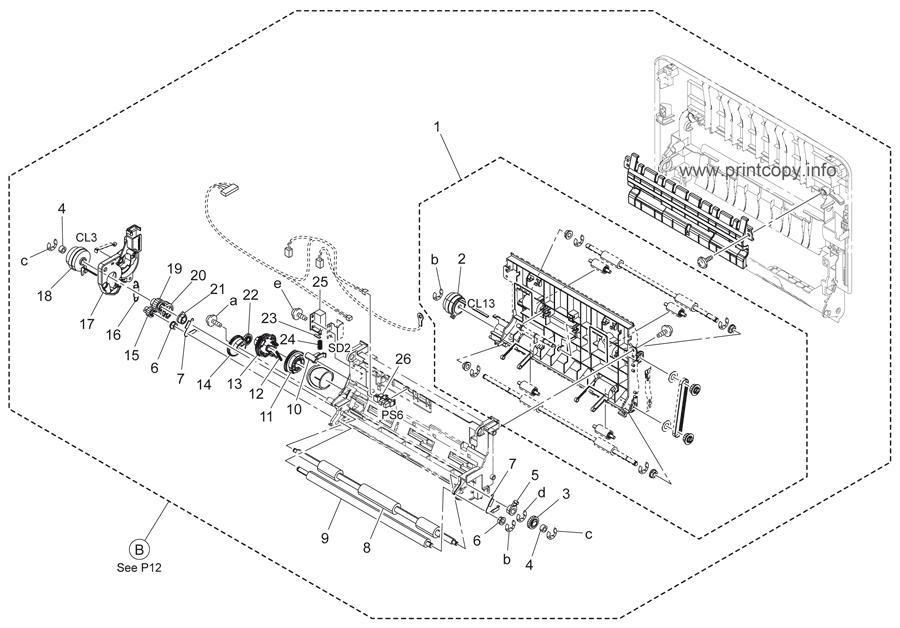 Parts Catalog > Konica-Minolta > bizhub C25 > page 14