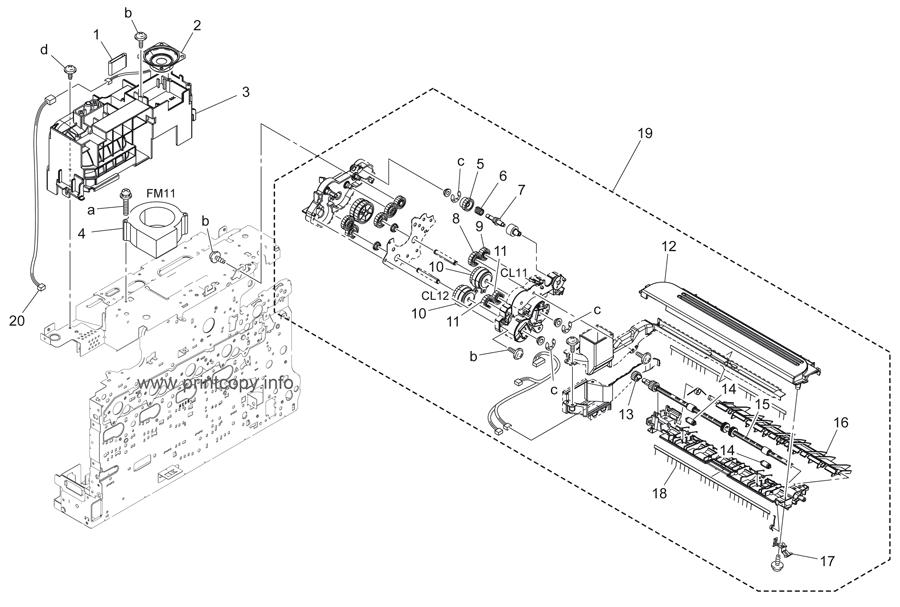 Parts Catalog > Konica-Minolta > bizhub C25 > page 15