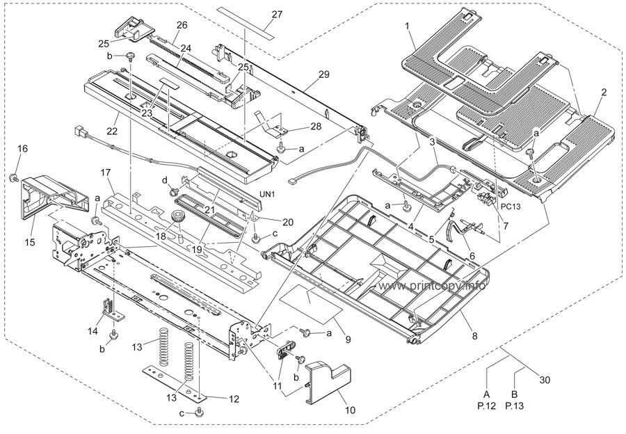 Parts Catalog > Konica-Minolta > bizhub C250 > page 11