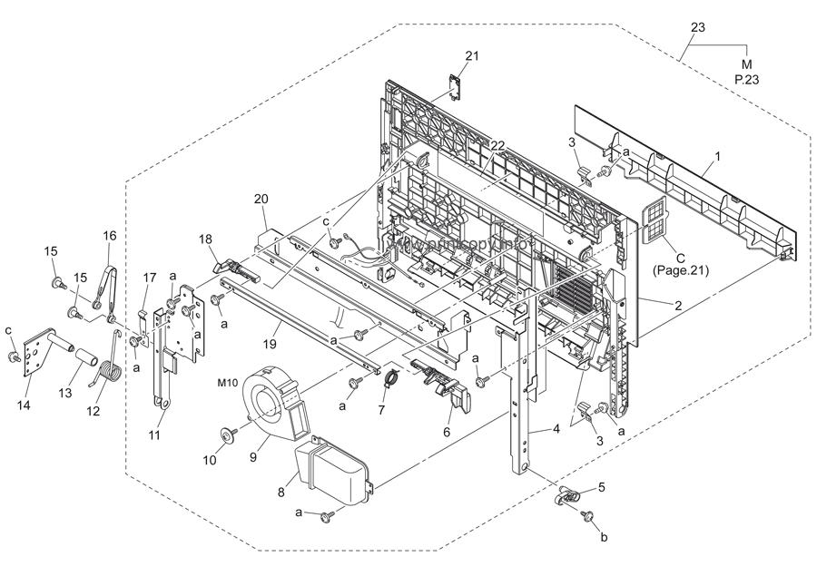 Parts Catalog > Konica-Minolta > bizhub C250 > page 24