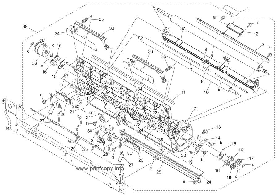 Parts Catalog > Konica-Minolta > bizhub C252 > page 21