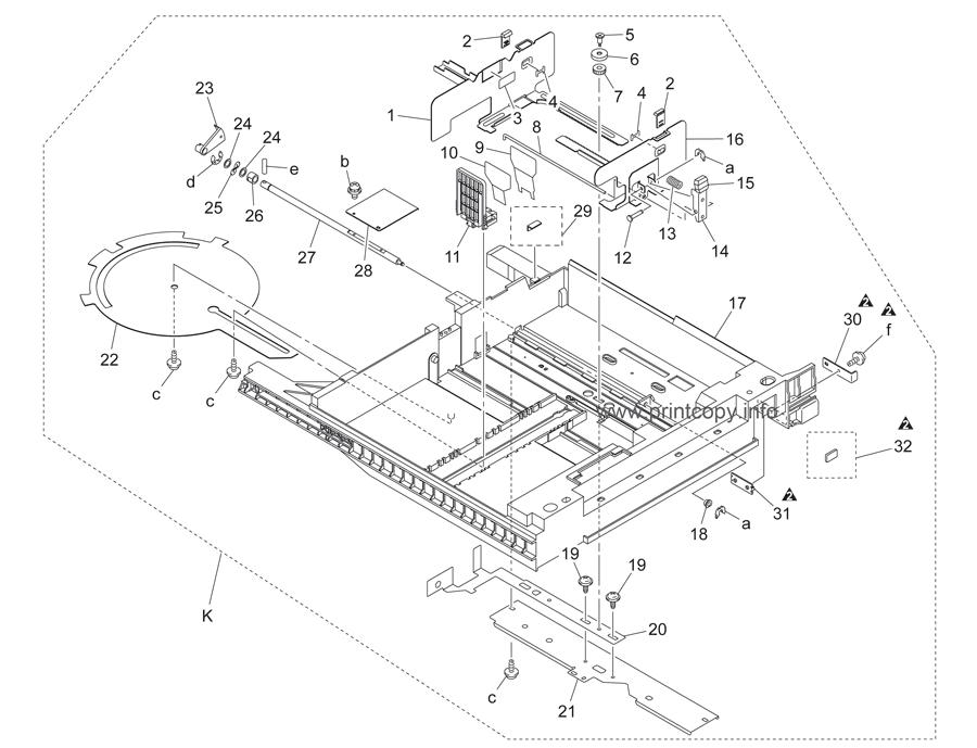Parts Catalog > Konica-Minolta > bizhub C252 > page 41