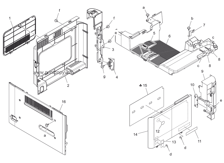 Parts Catalog > Konica-Minolta > bizhub C3110 > page 5