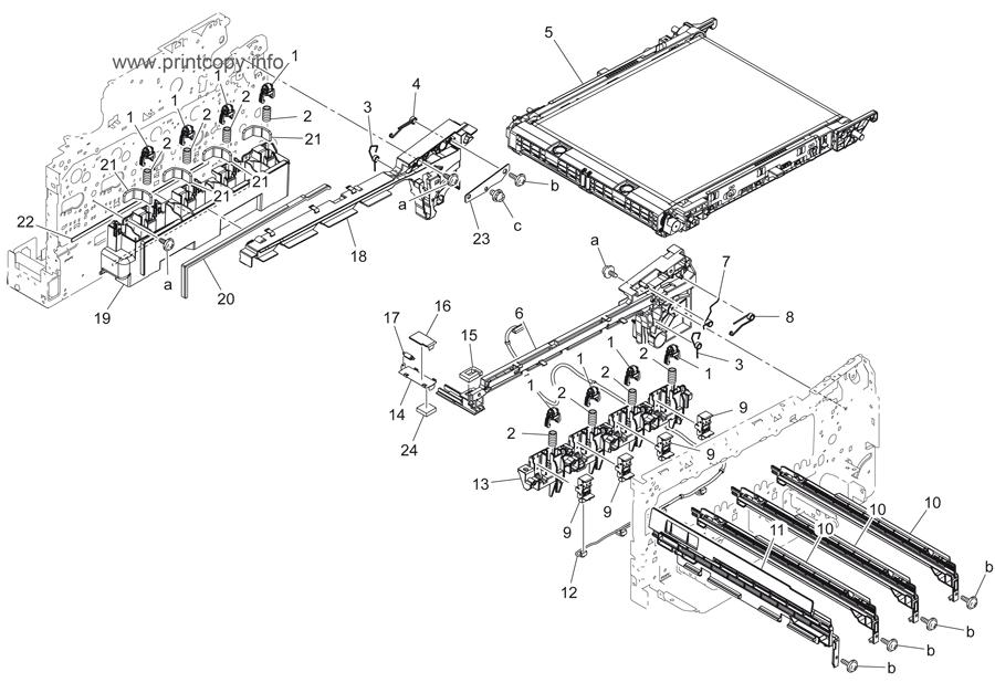 Parts Catalog > Konica-Minolta > bizhub C3110 > page 8