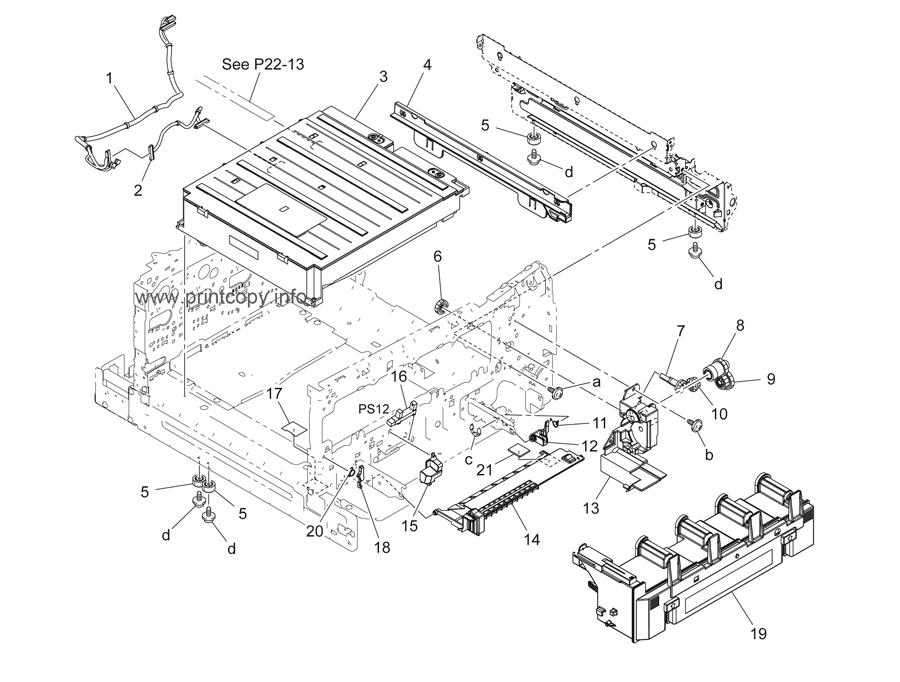 Parts Catalog > Konica-Minolta > bizhub C3110 > page 11
