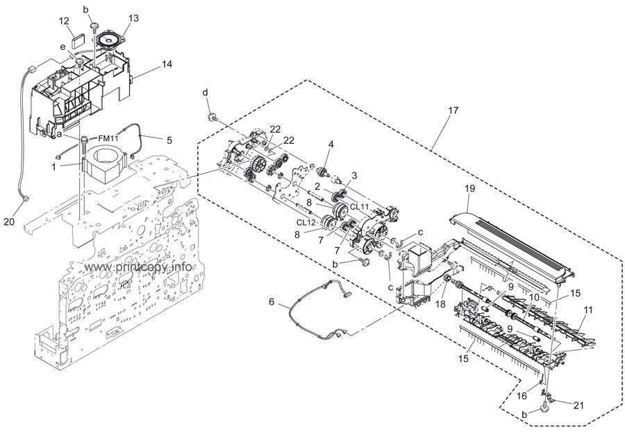 Parts Catalog > Konica-Minolta > bizhub C3110 > page 16