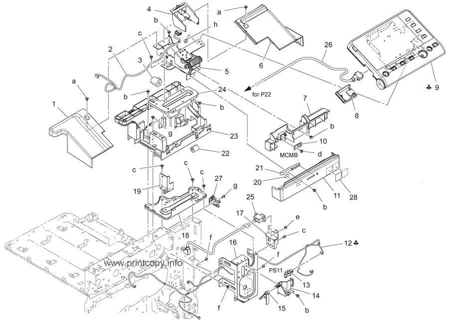 Parts Catalog > Konica-Minolta > bizhub C3350 > page 2