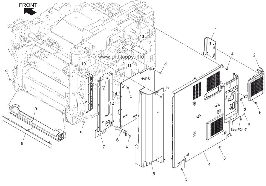 Parts Catalog > Konica-Minolta > bizhub C3350 > page 4