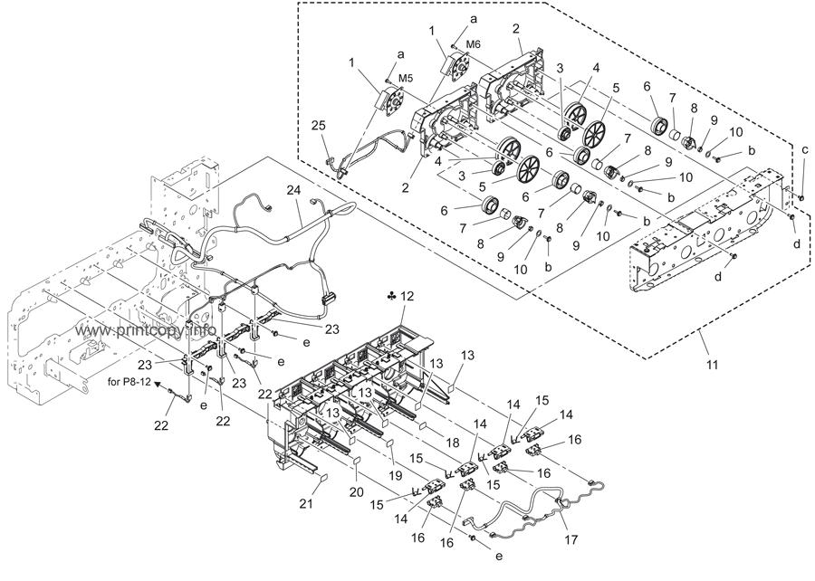 Parts Catalog > Konica-Minolta > bizhub C3350 > page 6