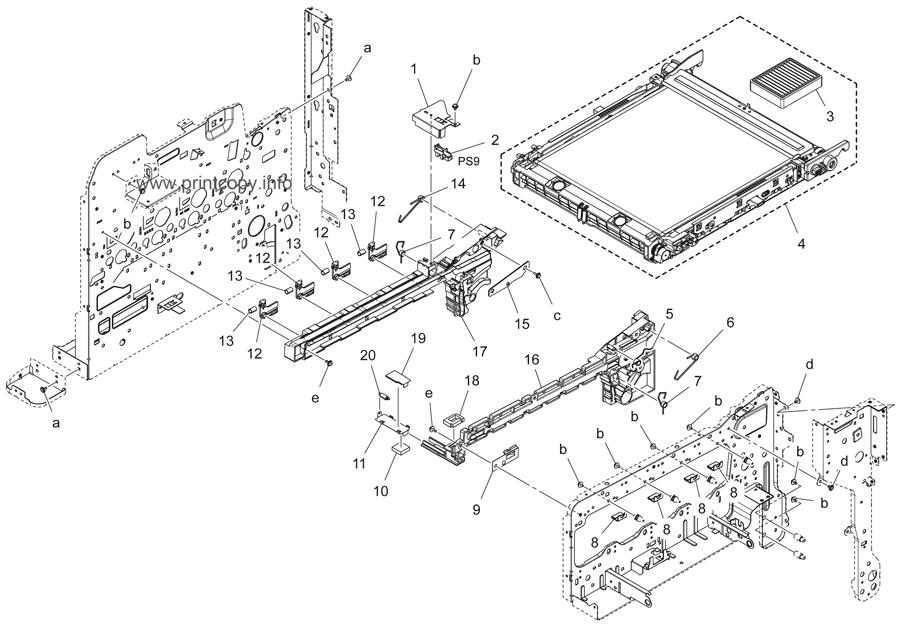 Parts Catalog > Konica-Minolta > bizhub C3850 > page 7