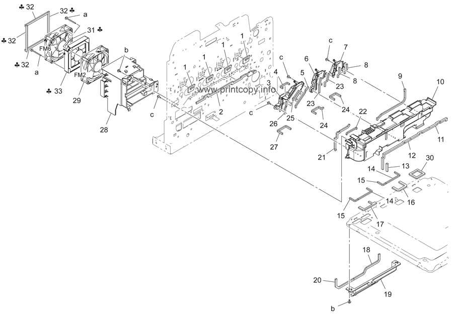 Parts Catalog > Konica-Minolta > bizhub C3850 > page 9