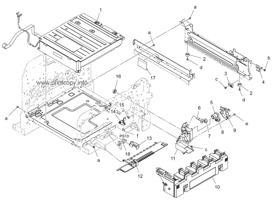 Parts Catalog > Konica-Minolta > bizhub C3350 > page 11