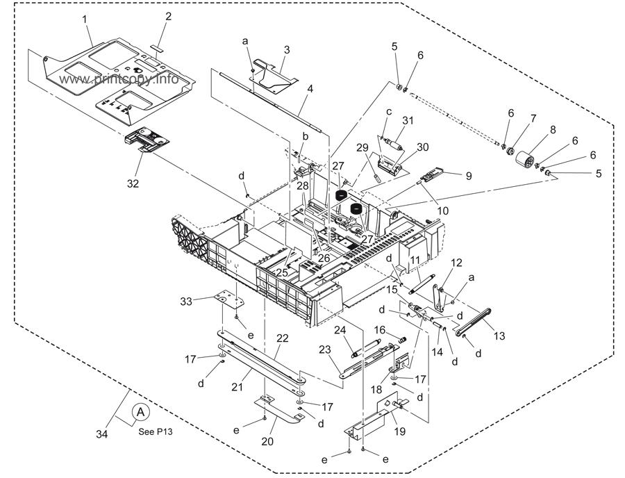 Parts Catalog > Konica-Minolta > bizhub C3350 > page 12
