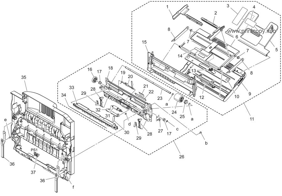 Parts Catalog > Konica-Minolta > bizhub C3350 > page 14