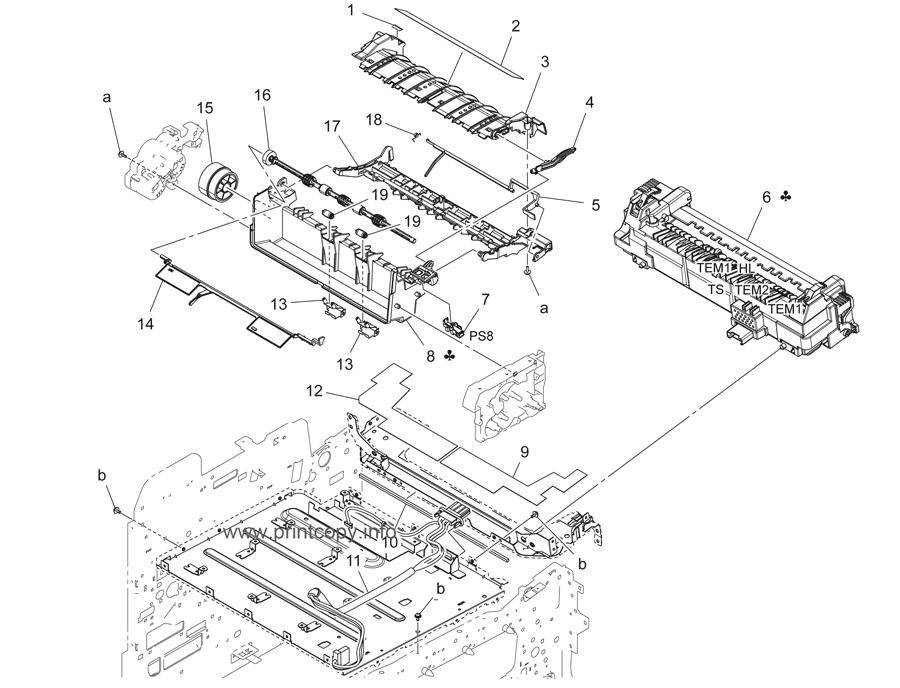Parts Catalog > Konica-Minolta > bizhub C3350 > page 18