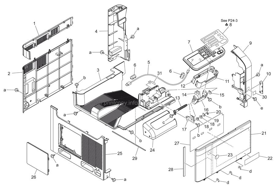 Parts Catalog > Konica-Minolta > bizhub C35 > page 2