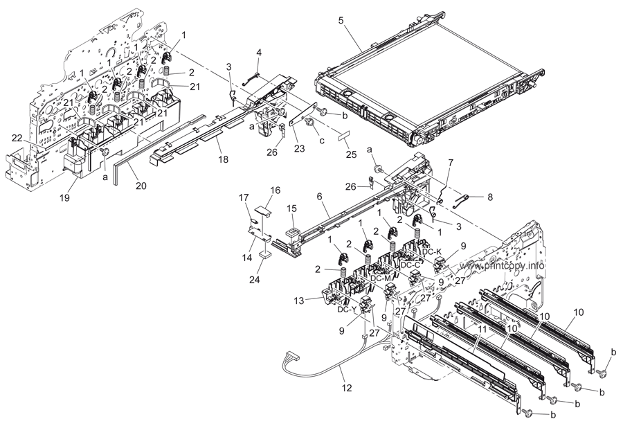 Parts Catalog > Konica-Minolta > bizhub C35 > page 5