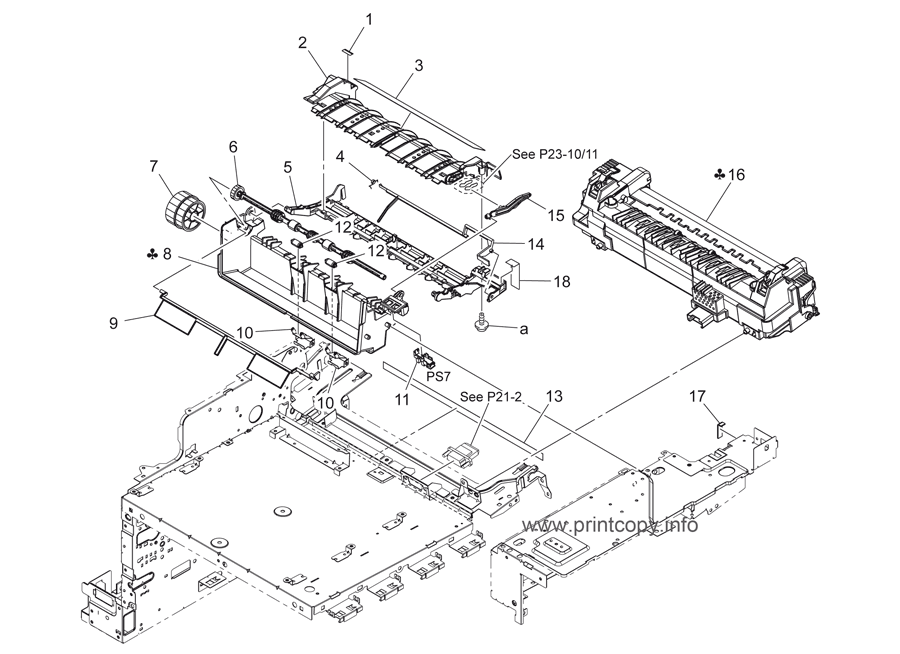 Parts Catalog > Konica-Minolta > bizhub C35 > page 14