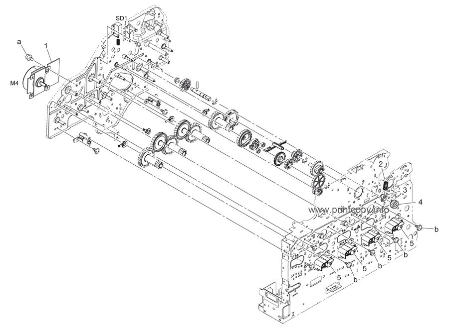Parts Catalog > Konica-Minolta > bizhub C35 > page 15