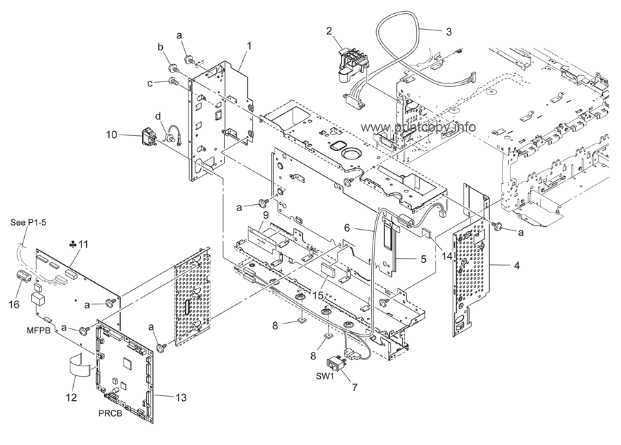 Parts Catalog > Konica-Minolta > bizhub C35 > page 19