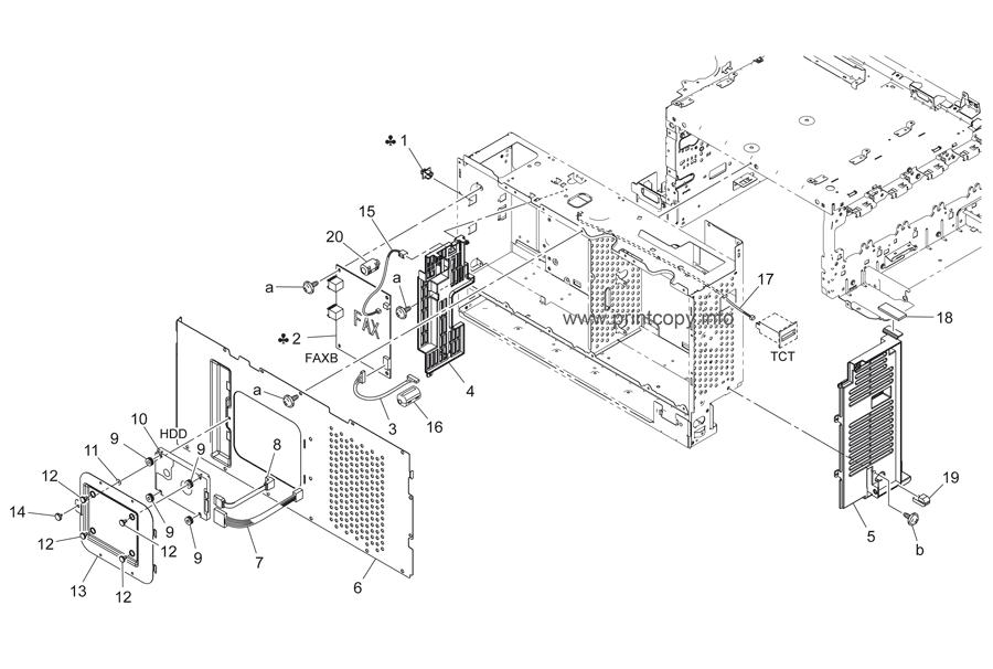 Parts Catalog > Konica-Minolta > bizhub C35 > page 20