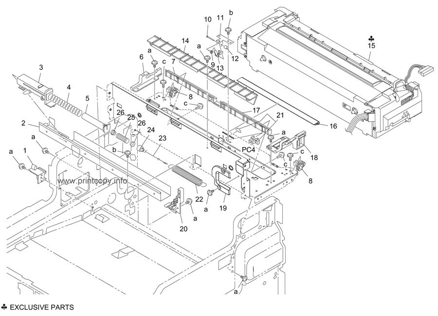 Parts Catalog > Konica-Minolta > bizhub C350 > page 29