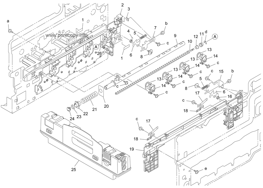 Parts Catalog > Konica-Minolta > bizhub C350 > page 32