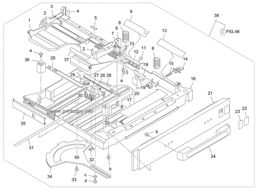 Parts Catalog > Konica-Minolta > bizhub 8022 > page 47