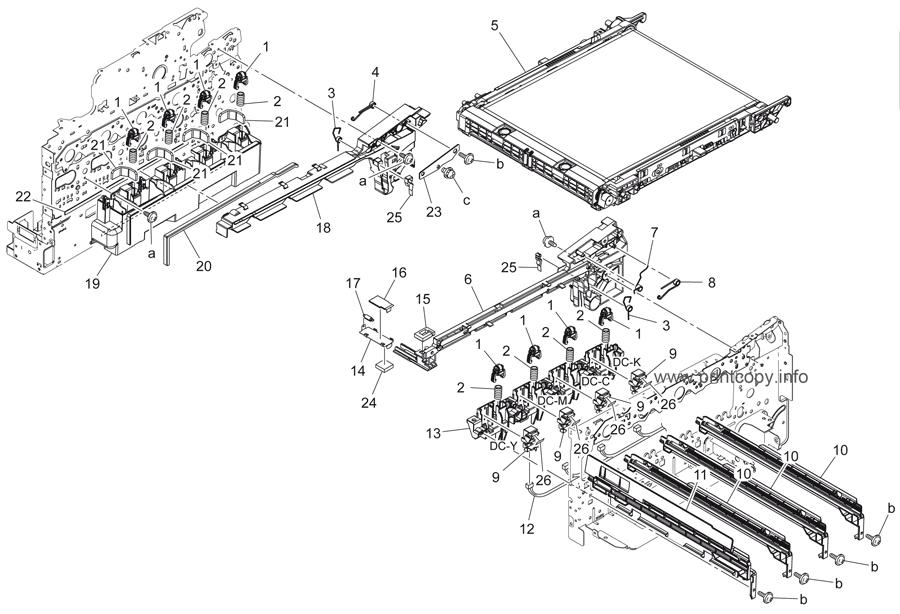 Parts Catalog > Konica-Minolta > bizhub C35P > page 4