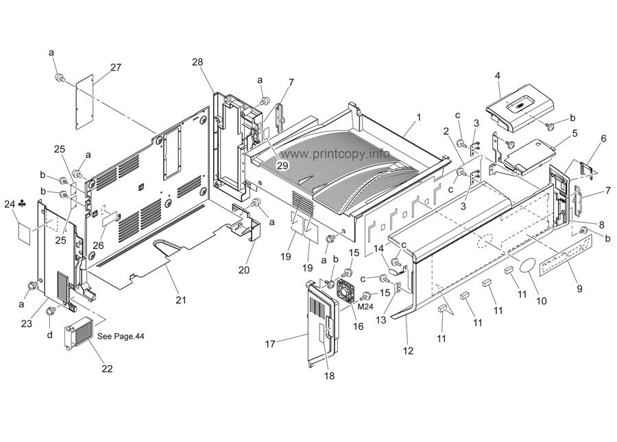 Parts Catalog > Konica-Minolta > bizhub C450 > page 1