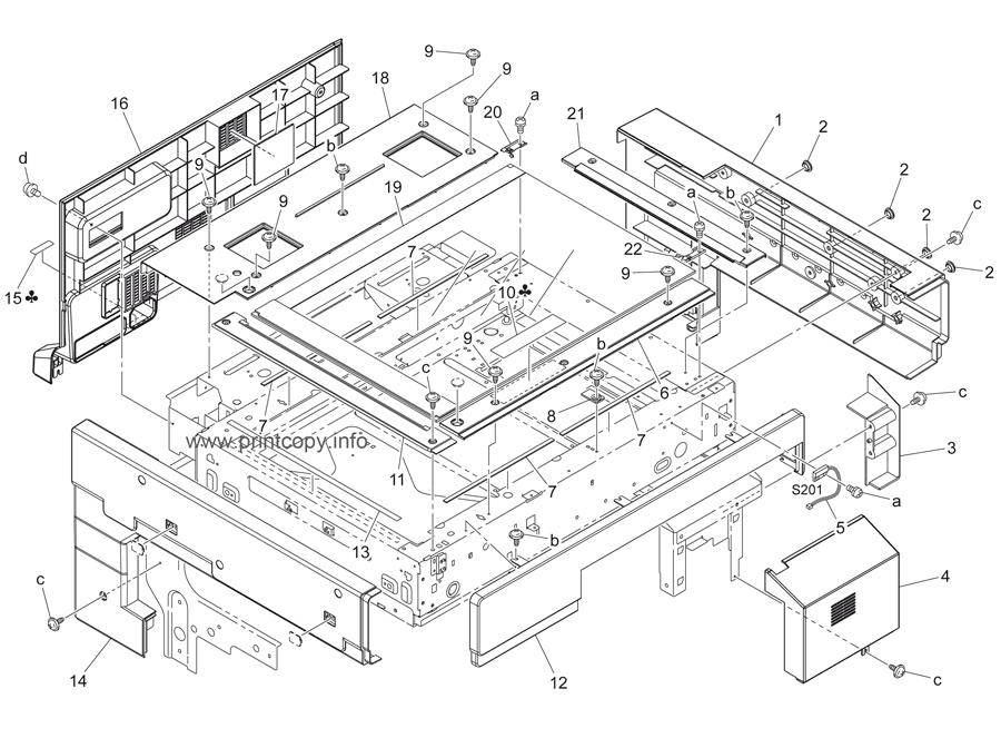 Parts Catalog > Konica-Minolta > bizhub C450 > page 3