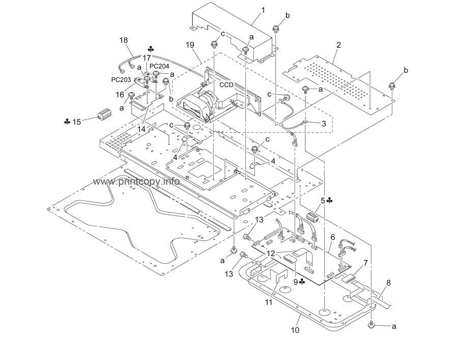 Parts Catalog > Konica-Minolta > bizhub C450 > page 6